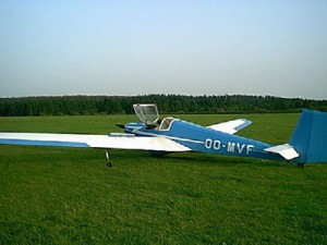 Very first powered glider I flew in in 1969 (still fying in 2001)